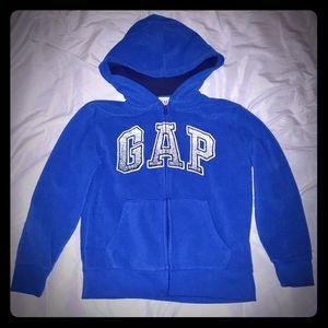 Boys Gap Blue Full Zip Hoodie